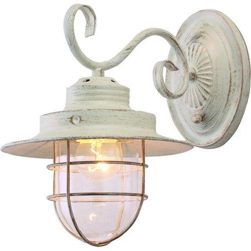 Бра Arte Lamp LANTERNA белый/прозрачный A4579AP-1WG