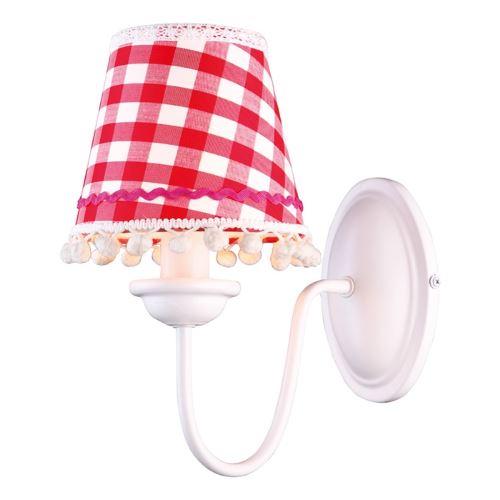 Бра Arte Lamp KIDS белый/красный A5165AP-1WH