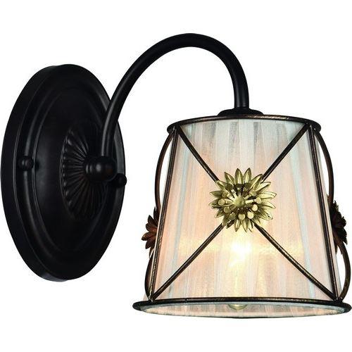 Бра Arte Lamp FORTUNA коричневый/белый A5495AP-1BR