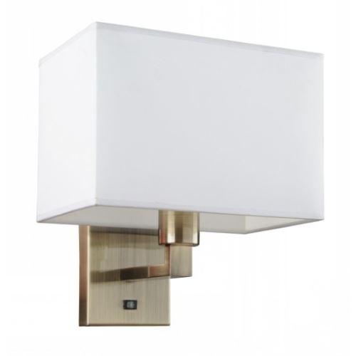 Бра Arte Lamp HALL бронза/белый A9248AP-1AB