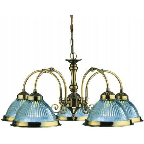 Люстра подвесная Arte Lamp AMERICAN DINER античная бронза A9366LM-5AB