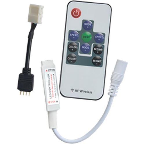 Контроллер Ecola LED strip RGB RF  mini controller 6A 72W 12V (144W 24V) CRFM72ESB