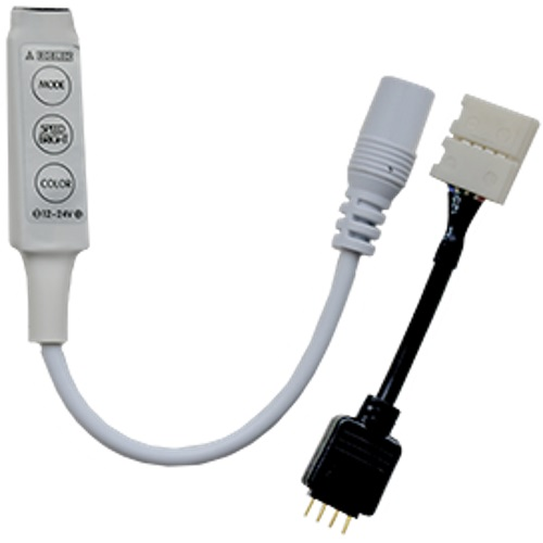 Контроллер Ecola LED strip RGB mini controller 6A 72W 12V (144W 24V) CRMM72ESB