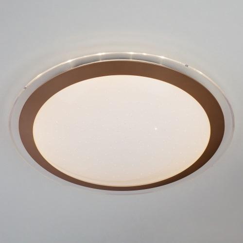 Накладной светильник Eurosvet Fusion 40003/1 LED матовое золото