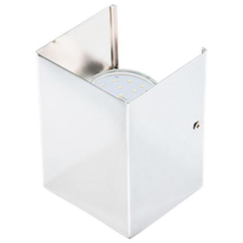 Накладной светильник Ecola N52 GX53 Белый FWN52FECB