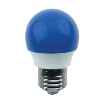 Лампа светодиодная Ecola Globe LED Color 2.6W G45 E27 Blue K7CB26ELB