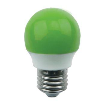 Лампа светодиодная Ecola Globe LED Color 2.6W G45 E27 Green K7CG26ELB