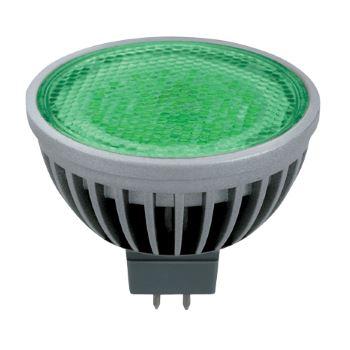 Лампа светодиодная Ecola MR16 LED Color 4.2W GU5.3 Green M2CG42ELC