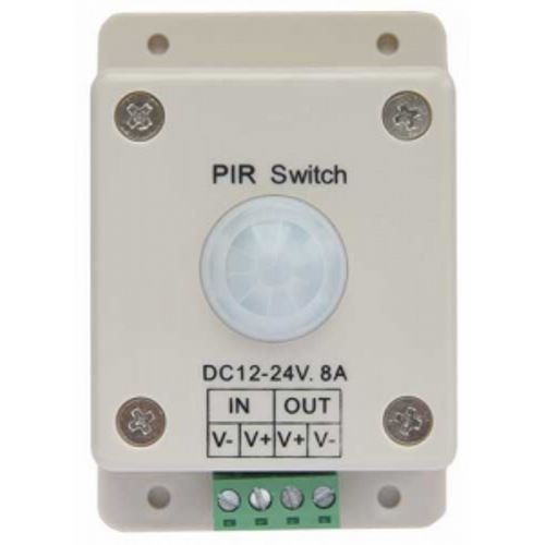 Контроллер Ecola LED IR Motion Sensor 8A 96W 12V (192W 24V) автоматический выключатель  PIR096ESB
