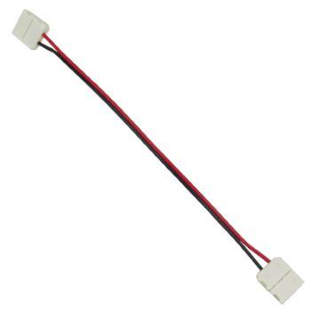 Коннектор для светодиодной ленты 5050 Ecola LED Strip Connector гибкий двусторонний SC21U2ESB