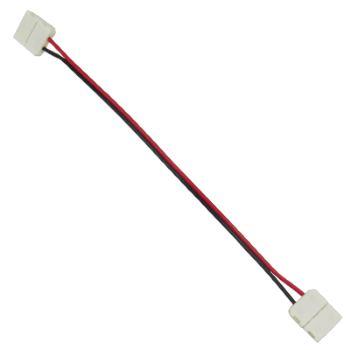 Коннектор для светодиодной ленты 2835/3528 Ecola LED Strip Connector гибкий двусторонний SC28C2ESB