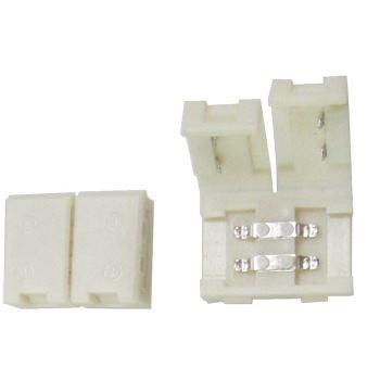 Коннектор для светодиодной ленты 2835/3528 Ecola LED Strip Connector жесткий SC28USESB