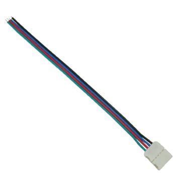 Коннектор для светодиодной ленты RGB Ecola LED Strip Connector гибкий односторонний SC41U1ESB