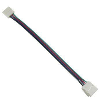 Коннектор для светодиодной ленты RGB Ecola LED Strip Connector гибкий двусторонний SC41U2ESB