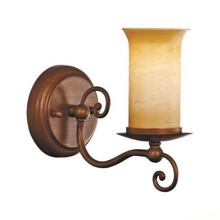 Бра ST Luce Ancora коричневый/янтарный SL122.301.01