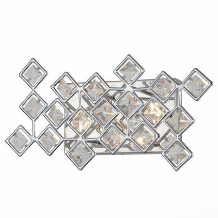 Бра ST Luce Intarsio хром/прозрачный SL784.101.02