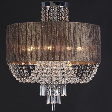 Люстра хрустальная ST Luce Representa хром/коричневый/прозрачный SL892.702.08