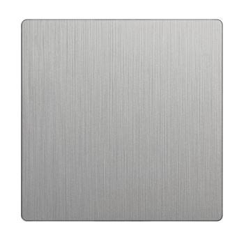 Клавиша для для выключателя перекрестного Werkel серебряный рифленый WL09-SW-1G-C-CP