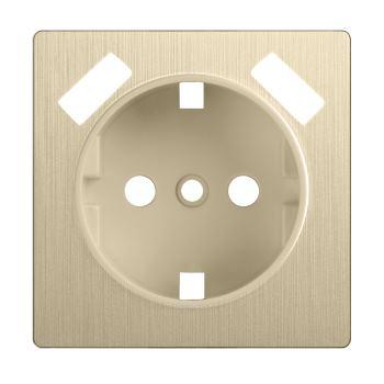 Накладка для USB розетки Werkel шампань рифленый WL10-USB-CP