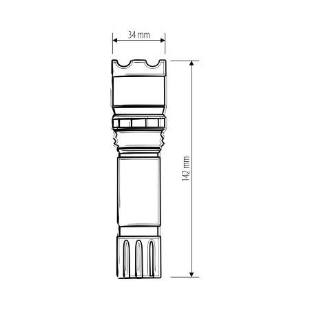Светодиодный фонарь Elektrostandard Focus Line