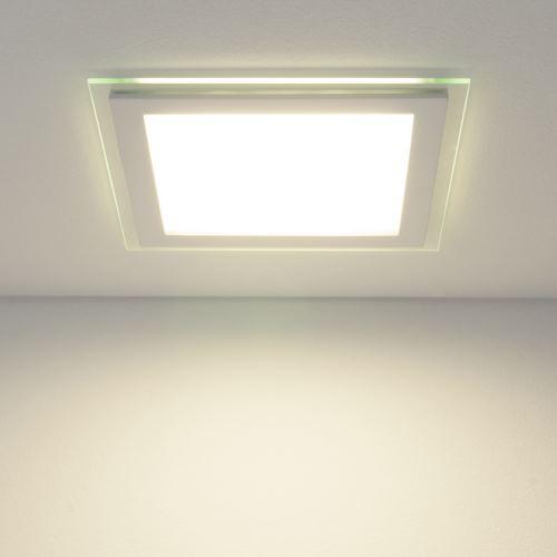 Встраиваемый светильник Elektrostandard DLKS200 18W 4200K белый