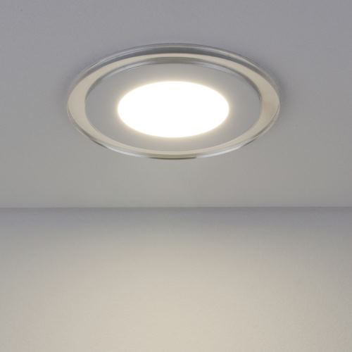 Встраиваемый светильник Elektrostandard Downlight DLKR160 12W 4200K синий