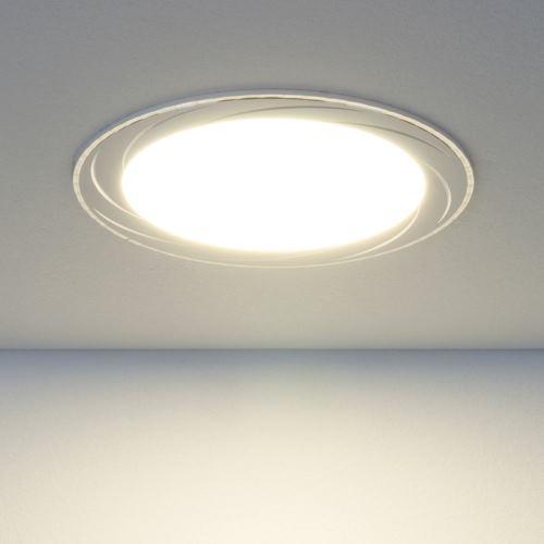 Встраиваемый светильник Elektrostandard DLR004 12W 4200K WH белый