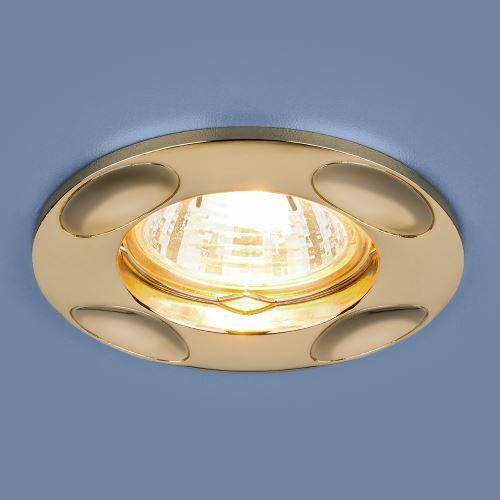 Встраиваемый светильник Elektrostandard 7008 MR16 GD золото