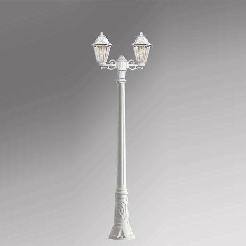 Уличный светильник Fumagalli Gigi Bisso Anna белый/прозрачный E22.156.S20.WXE27