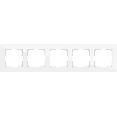 Рамка Werkel Favorit 5 постов белый WL01-Frame-05