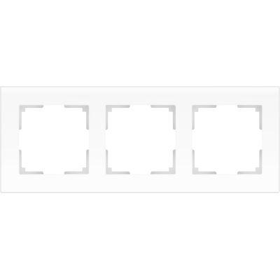 Рамка Werkel Favorit 3 поста белый матовый WL01-Frame-03