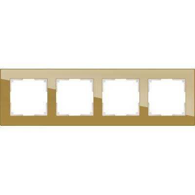 Рамка Werkel Favorit 4 поста бронзовый WL01-Frame-04