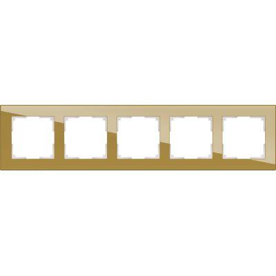 Рамка Werkel Favorit 5 постов бронзовый WL01-Frame-05