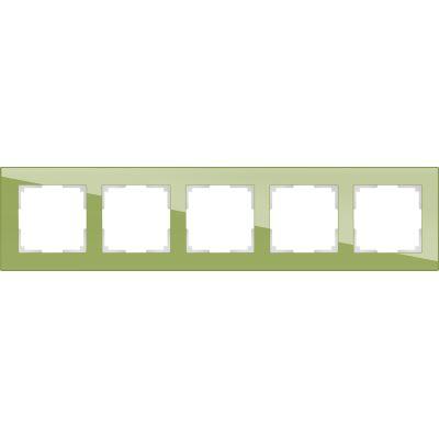 Рамка Werkel Favorit 5 постов фисташковый WL01-Frame-05