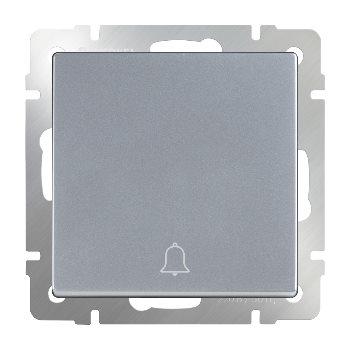Кнопка звонка Werkel серебряный WL06-04-01