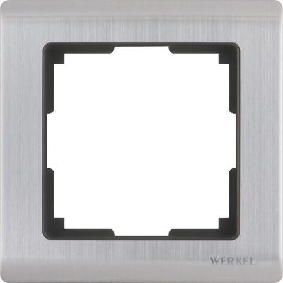 Рамка Werkel Metallic 1 пост глянцевый никель WL02-Frame-01