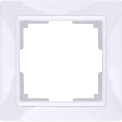 Рамка Werkel Snabb Basic 1 пост белый WL03-Frame-01