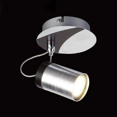 Светильник спот Eurosvet 20044/1 хром/черный