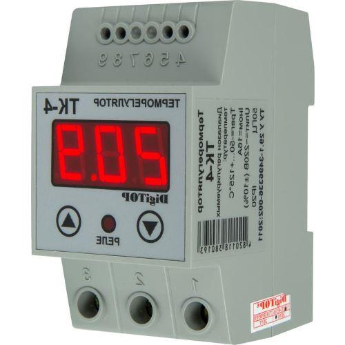 Терморегулятор одноканальный DigiTop ТК-4