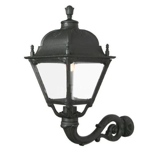 Уличный светильник Fumagalli Adam Simon черный/прозрачный U33.171.000.AXE27